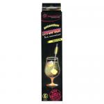 Трубочки для коктейлей Пиромания неоновые желтые, 6шт