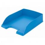 Лоток горизонтальный для бумаг Leitz Plus Standard A4, голубой