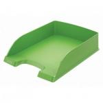 Лоток горизонтальный для бумаг Leitz Plus Standard A4, зеленый