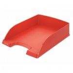 Лоток горизонтальный для бумаг Leitz Plus Standard A4, светло-красный
