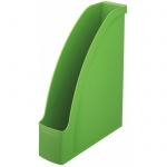 Накопитель вертикальный для бумаг Leitz Plus А4, 78мм, зеленый