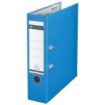 Папка-регистратор А4 Leitz, 80 мм, голубая