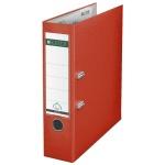 Папка-регистратор А4 Leitz, 80 мм, светло-красная