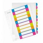 Цифровой разделитель листов Leitz WOW, А4+, 10 разделов