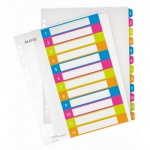 Цифровой разделитель листов Leitz WOW, А4+, 12 разделов