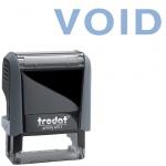 Штамп стандартных слов Trodat Printy VOID, 38х14мм, серый, 4911