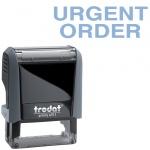 Штамп стандартных слов Trodat Printy URGENT ORDER, 38х14мм, серый, 4911