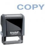 Штамп стандартных слов Trodat Printy COPY, 38х14мм, серый, 4911