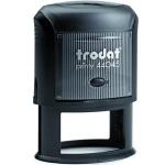 Оснастка для овальной печати Trodat Printy 45х30мм, черная, 44045
