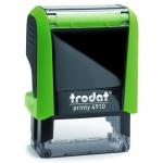 Оснастка для прямоугольной печати Trodat Printy 26х9мм, зеленое яблоко, 4910