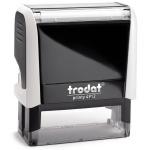 Оснастка для прямоугольной печати Trodat Printy 47х18мм, белая-черная, 4912