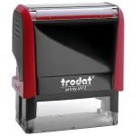 Оснастка для прямоугольной печати Trodat Printy 47х18мм, красная, 4912