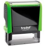 Оснастка для прямоугольной печати Trodat Printy 58х22мм, зеленое яблоко, 4913