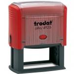 Оснастка для прямоугольной печати Trodat Printy 75х38мм, 4926, красная