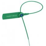 Пломбы пластиковые номерные зеленые, 330мм, 1000шт