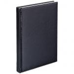 Телефонная книга Agenda А5, черная, 120л, кожзам