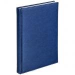 Телефонная книга Agenda А5, синяя, 120л, кожзам