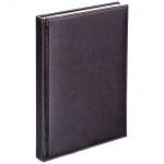 Телефонная книга Agenda А6, 48 листов, кожзам, коричневый