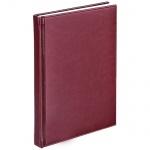 Телефонная книга Agenda А6, бордовая, 48 листов, кожзам