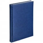 Телефонная книга Agenda А6, 48 листов, кожзам, синий
