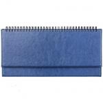 Планинг недатированный Agenda синий, 15х28.8см, 66 листов