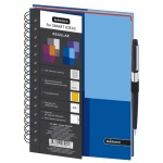 Тетрадь общая Mariner Regular, А5, 120 листов, в клетку, синий