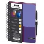 Тетрадь общая Mariner Regular фиолетовая, А5, 120 листов, в клетку
