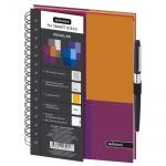 Тетрадь общая Mariner Regular, А5, 120 листов, в клетку, оранжевый