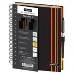 Тетрадь общая Mariner Ambition 5 оранжевая, А5, 150 листов, в клетку и линейку