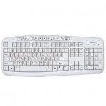 Клавиатура проводная USB Sven Comfort 3050, белая