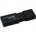 Флеш-накопитель Kingston DataTraveler DT100G3 16Gb, 100/10 мб/с, черный