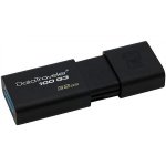 Флеш-накопитель Kingston DataTraveler DT100G3 32Gb, 40/10 мб/с, черный