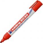 Маркер навигационный Edding 8030 красный, 3мм, круглый наконечник, корпус из ударопрочного пластика