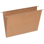 Папка подвесная Foolscap Эконом коричневая, А4+, 365х240 мм, 10 шт/уп