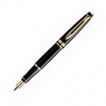 Ручка перьевая Waterman Expert F, черный корпус