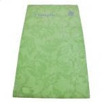Скатерть бумажная Vitto Prestige 120х180cм, зеленая, с полимерным покрытием
