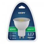 Лампа светодиодная Старт 6Вт, GU10, теплый белый