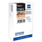 Картридж струйный Epson C13 T7011 4010, черный
