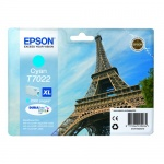 Картридж струйный Epson C13 T7022 4010, голубой