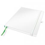Блокнот Leitz Complete iPad белый, А4, 80 листов, в клетку, на сшивке, с резинкой, твердая обложка,