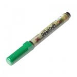 Маркер перманентный Marvy 210 зеленый, 1-2мм, круглый наконечник, для дерева и пористых поверхностей