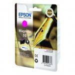 Картридж струйный Epson C13 T1623 4010, пурпурный