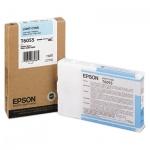 Картридж струйный Epson, светло-голубой