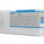 Картридж струйный Epson C13 T653200, голубой