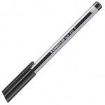 Ручка шариковая Staedtler Ball F, 0.3мм, черная