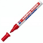 Маркер меловой Edding 4095, 2-3мм, круглый наконечник, для досок и любых гладких поверхностей, красный