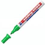 Маркер меловой Edding 4095, 2-3мм, круглый наконечник, для досок и любых гладких поверхностей, зеленый