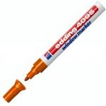 Маркер меловой Edding 4095, 2-3мм, круглый наконечник, для досок и любых гладких поверхностей, оранжевый