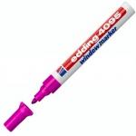 Маркер меловой Edding 4095, 2-3мм, круглый наконечник, для досок и любых гладких поверхностей, розовый