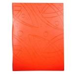 Папка файловая Бюрократ Galaxy, A4, на 20 файлов, оранжевая